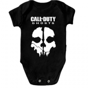 Детское боди Call of Duty Ghosts (Skull)