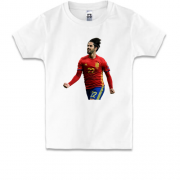 Детская футболка c Isco Spain national football team
