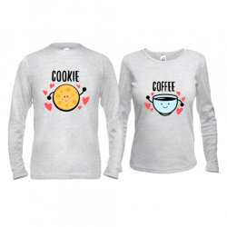 Паpні лонгсліви cookie/coffee