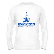 Лонгслив Vodka connecting people