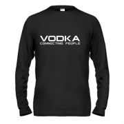 Лонгслив Vodka connecting people 2